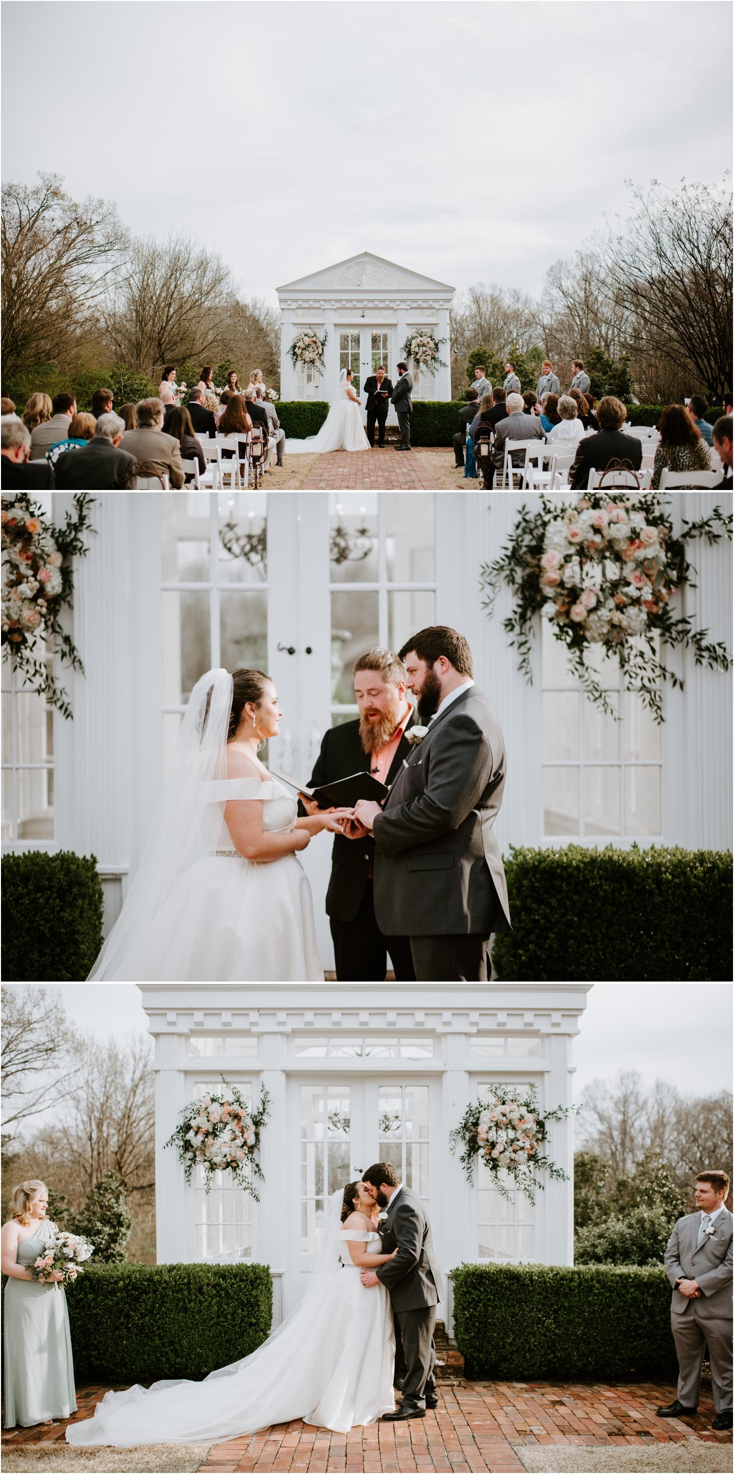 heartwood hall memphis venue wedding ceremony
