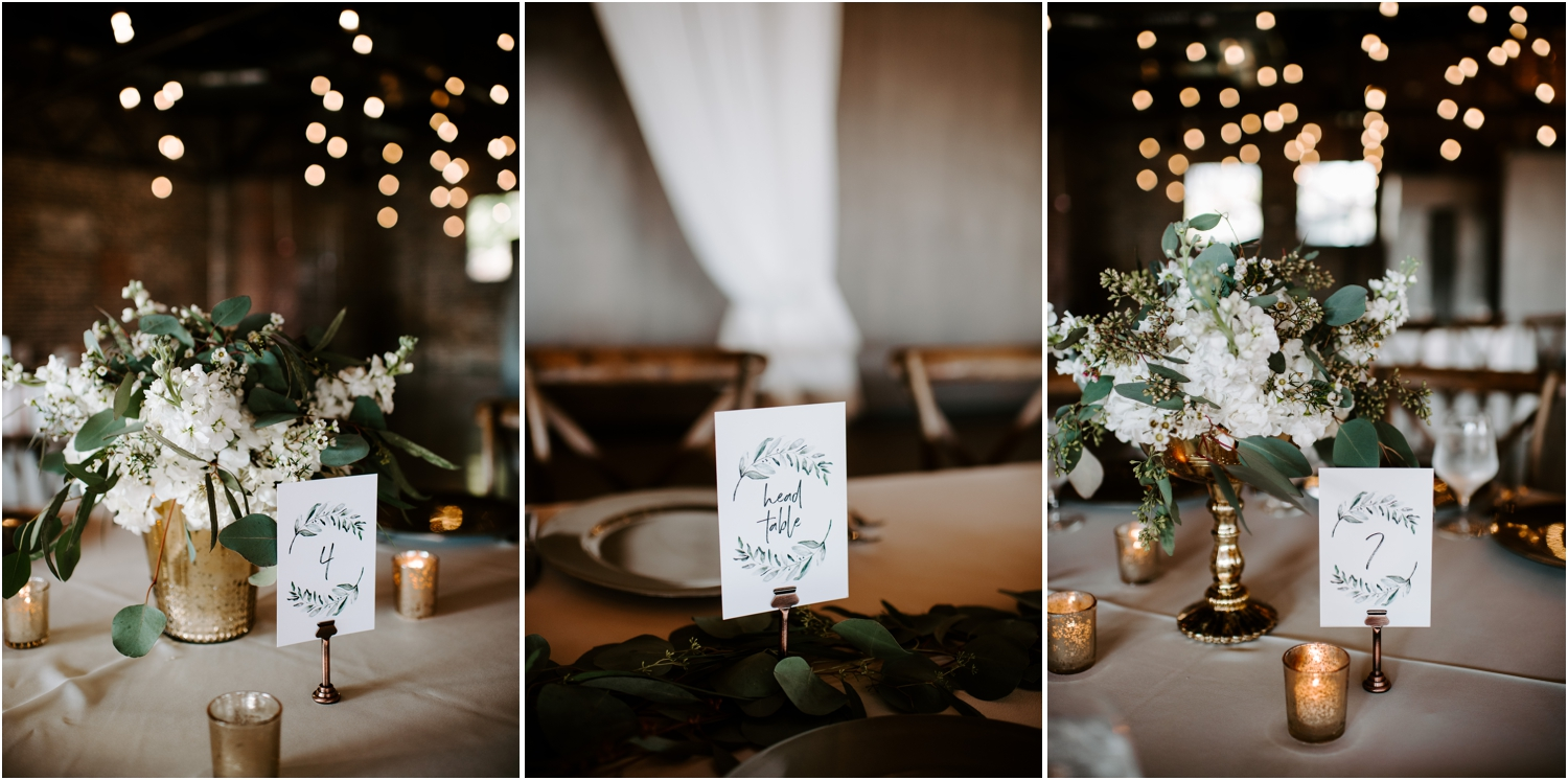 the press room knoxville reception table decor lisa foster design
