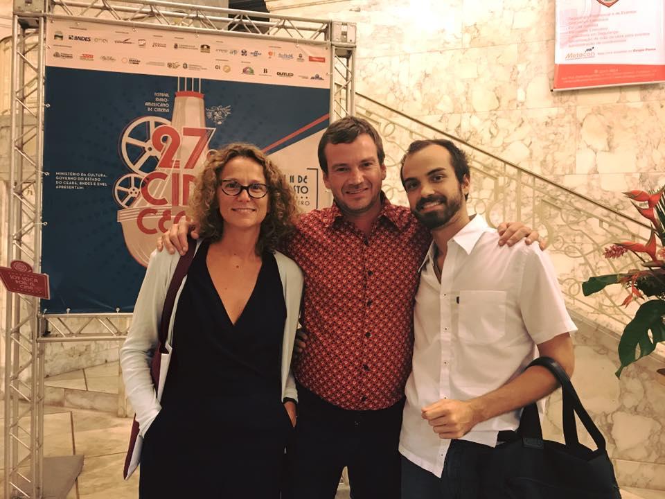 "Screening of ""Nadie nos Mira"" Dir. Julia Solomonoff Starring Guillermo Pfening at 27th Festival Cine Ceará"