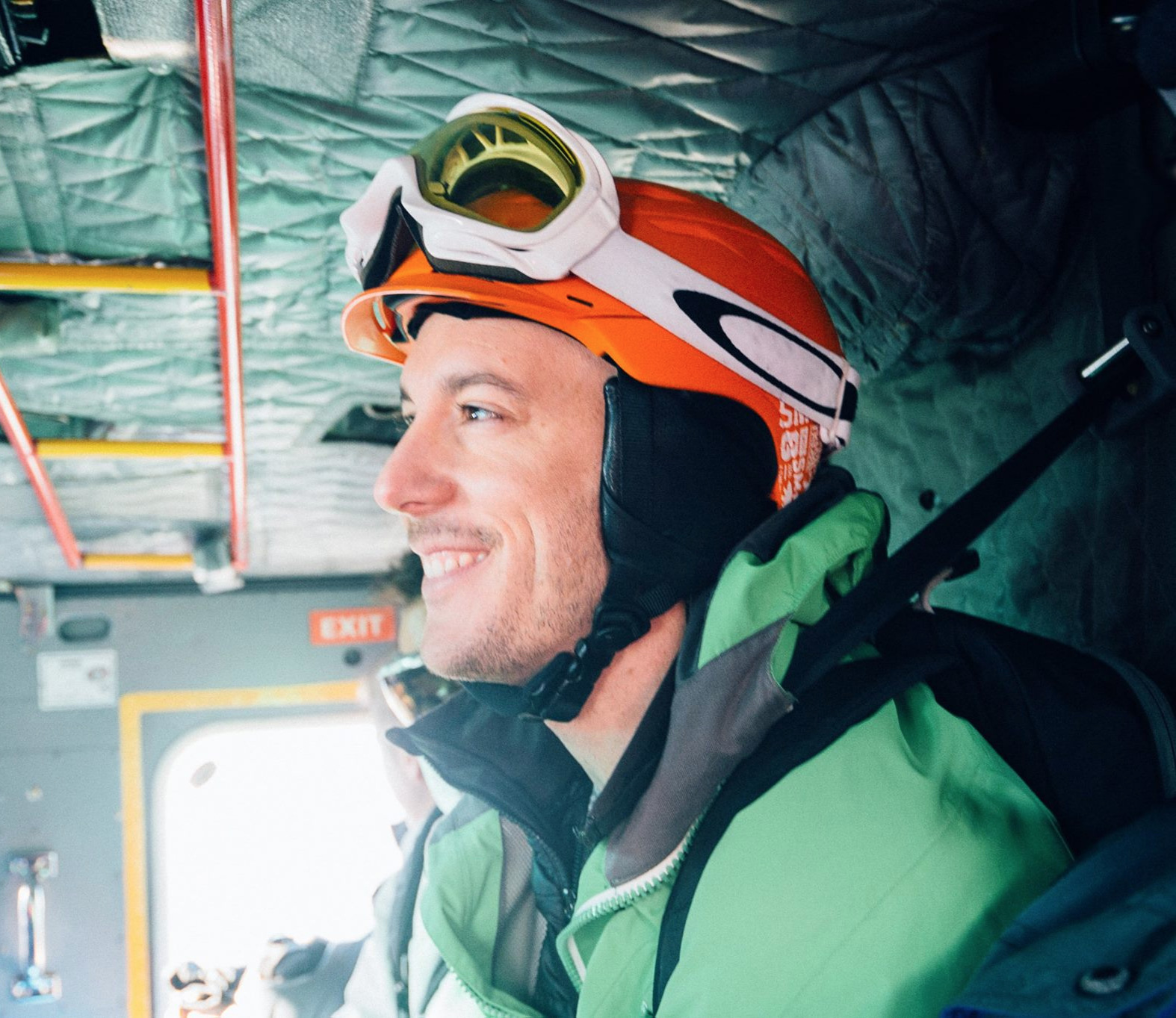 Keith Oberlin - founder / Adventure director / Senior GuideSnowboarder | Cyclist | Whitewater kayaker | Triathlete | Hiker | Backpacker | climberAn awkward kid growing up - not sports or outdoors inclined at all - persevering on family camping and canoeing trips, he eventually landed on running and skiing during his youth. Post college something happened. The outdoors, travel and adventures sports took him around the globe from the Alps, paddling Chilean rivers, cycling the Californian coast and enjoying quiet weekends hiking with his husband and dog near their Vermont home.As Adventure Director, he works with outdoor organizations, athletes and enthusiasts to transform the outdoor industry into a safe, fun and inclusive space for the queer community. He also sits as Associate board member of Athlete Ally – tackling homophobia and transphobia in college, amateur, pro, and Olympic sports.