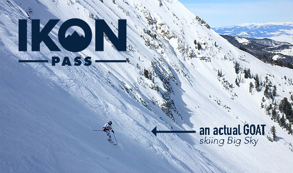 IKON discounts - DONE!Our winter 19/20 Discount is over. Stay tuned, We'll be giving away two base Passes at our Winter launch party!!