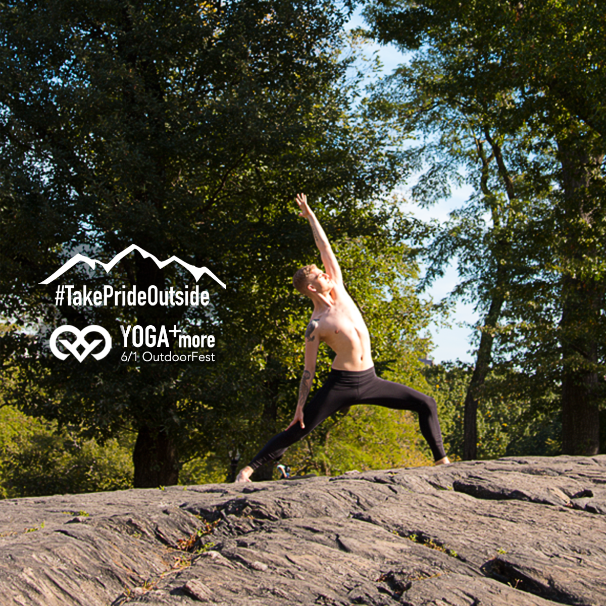 Jun 1 Yoga AtOutdoorFest - Live in the city but love the outdoors? break free at outdoorfests's weekend summer campout. So many activities all weekend. AND, Get Out and trek will be there doing YOGa!** CLOSED **