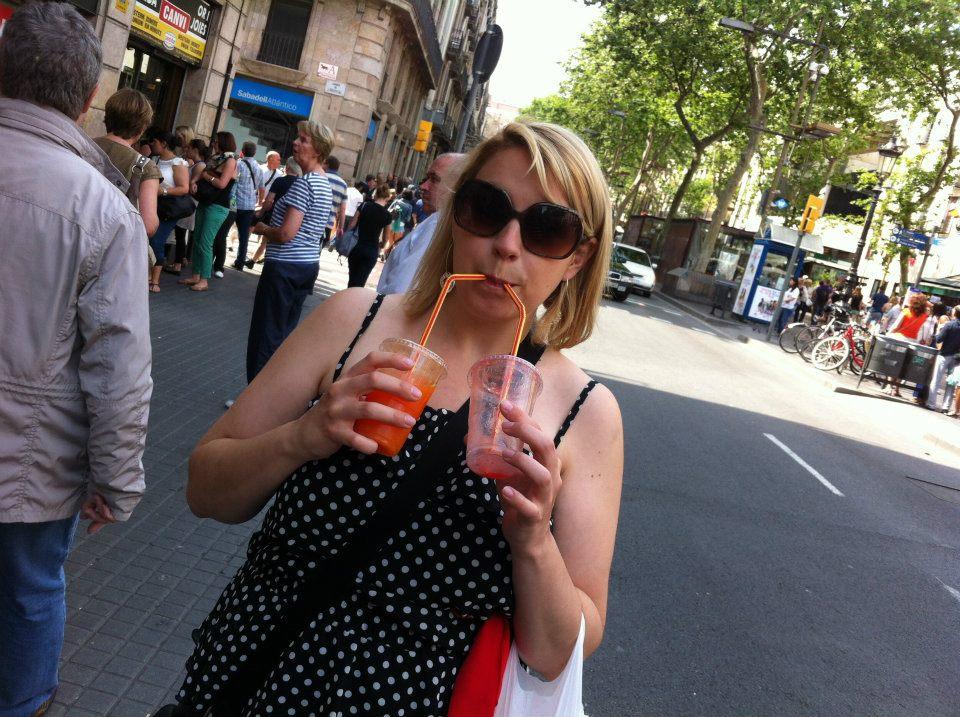 Danielle in Prague