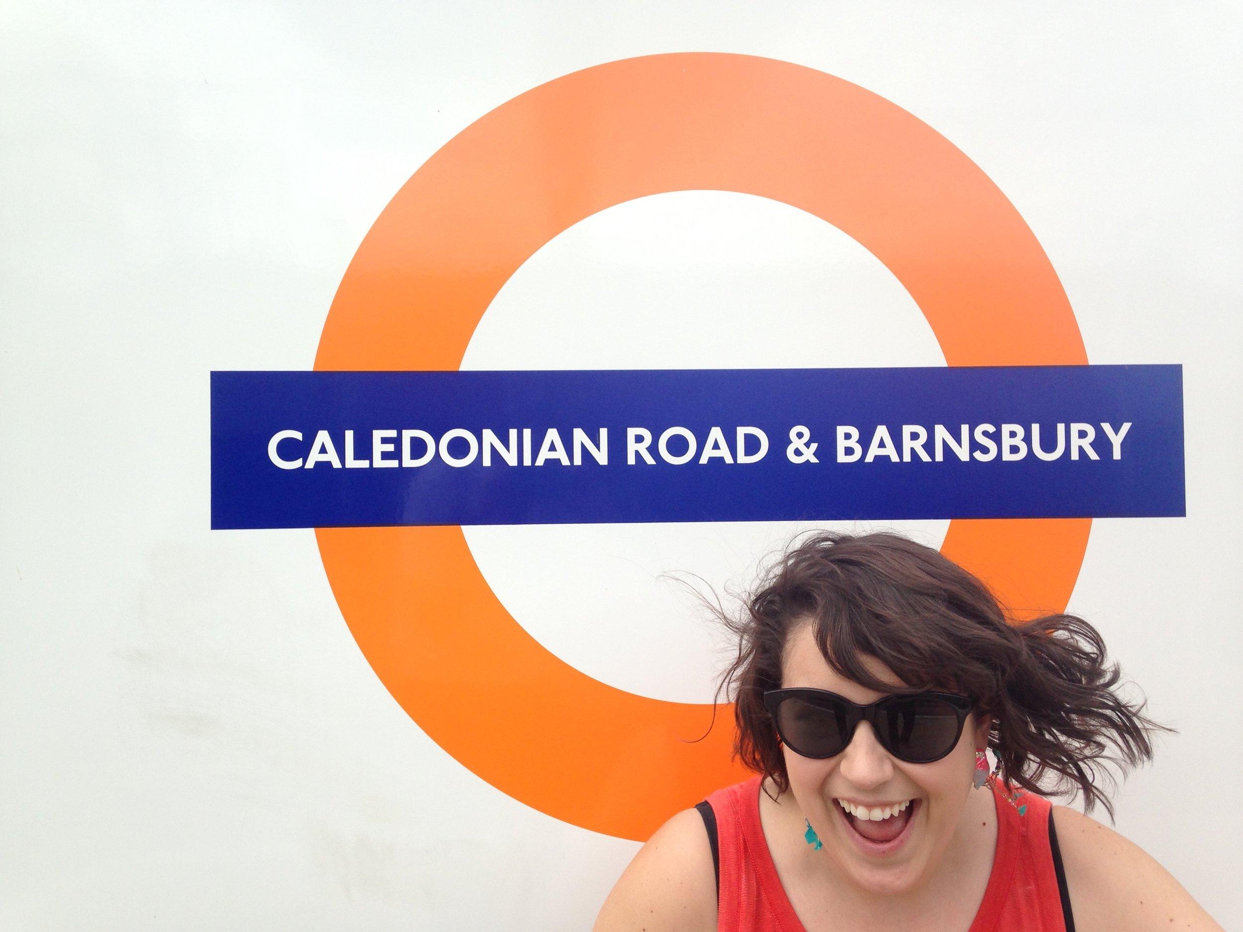 Danielle in London