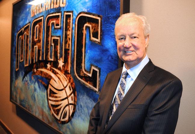 Pat Williams, Orlando Magic executive, and former NBA player