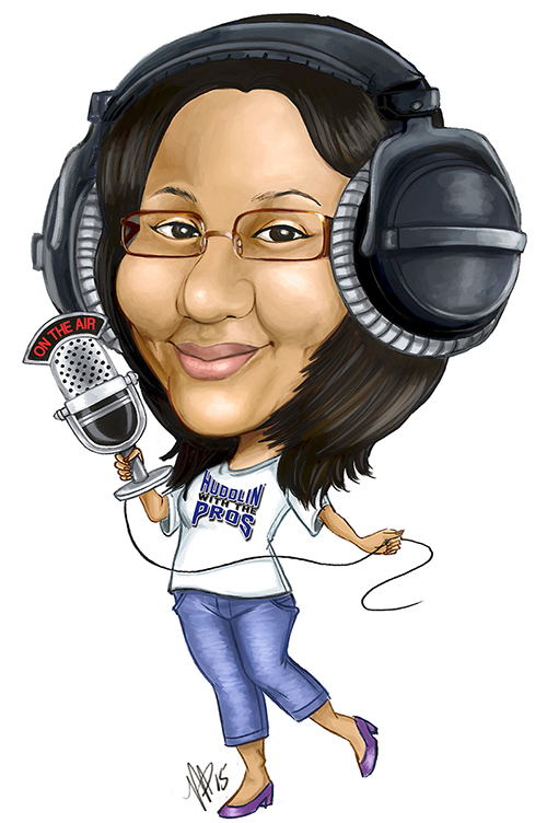 "Jacqueline Parke - is the Founder and Executive Producer of HWTP Sports Talk with David Weinstein. Jacqueline was raised in New City, New York. She received a Master of Science degree in Communications from S.I. Newhouse School of Public Communications at Syracuse University in 2017 and a Bachelor of Science in Communications-Public Relations at Mercy College in 2013.She came to New City from Corona, Queens in 1975. Idolizing her father, Keith ""Sticky"" Parke (1936-2017), Jacqueline spent most of her time sitting with him listening to music from Reggae to Jazz to sports. Jackie's father was a retired senior technician at CBS, and at the time, took her to her first sporting event, the US Open Tennis tournament when it was held at Forest Hills and then Flushing. Jackie's father had a major influence on her from music to sports. With this passion, Jackie started Huddlin' with the Pros in the mid-90s and it became the first behind the scenes, online sports magazine that focused on the off-field aspects of sports. The sports industry and athletes supported the magazine and it was compared to Sports Illustrated for its flare for writing and ESPN the magazine for its visual by the Journal News in 2000. The magazine was even featured in a college marketing book for branding. Unfortunately, the magazine folded in 2002 and years later, Jackie (still in her blood) decided to reinvent Huddlin' with the Pros and re-launch it as a sports podcast with the same core themes of off-field discussions. HWTP Sports Talk with David Weinstein is a Sweet G Communications production, in honor of her mother the late Gloria H. Parke (1940-2005). Sweet G was a nickname given to her mother by her father. Jackie has an extensive background in the legal sector, business, and communications."