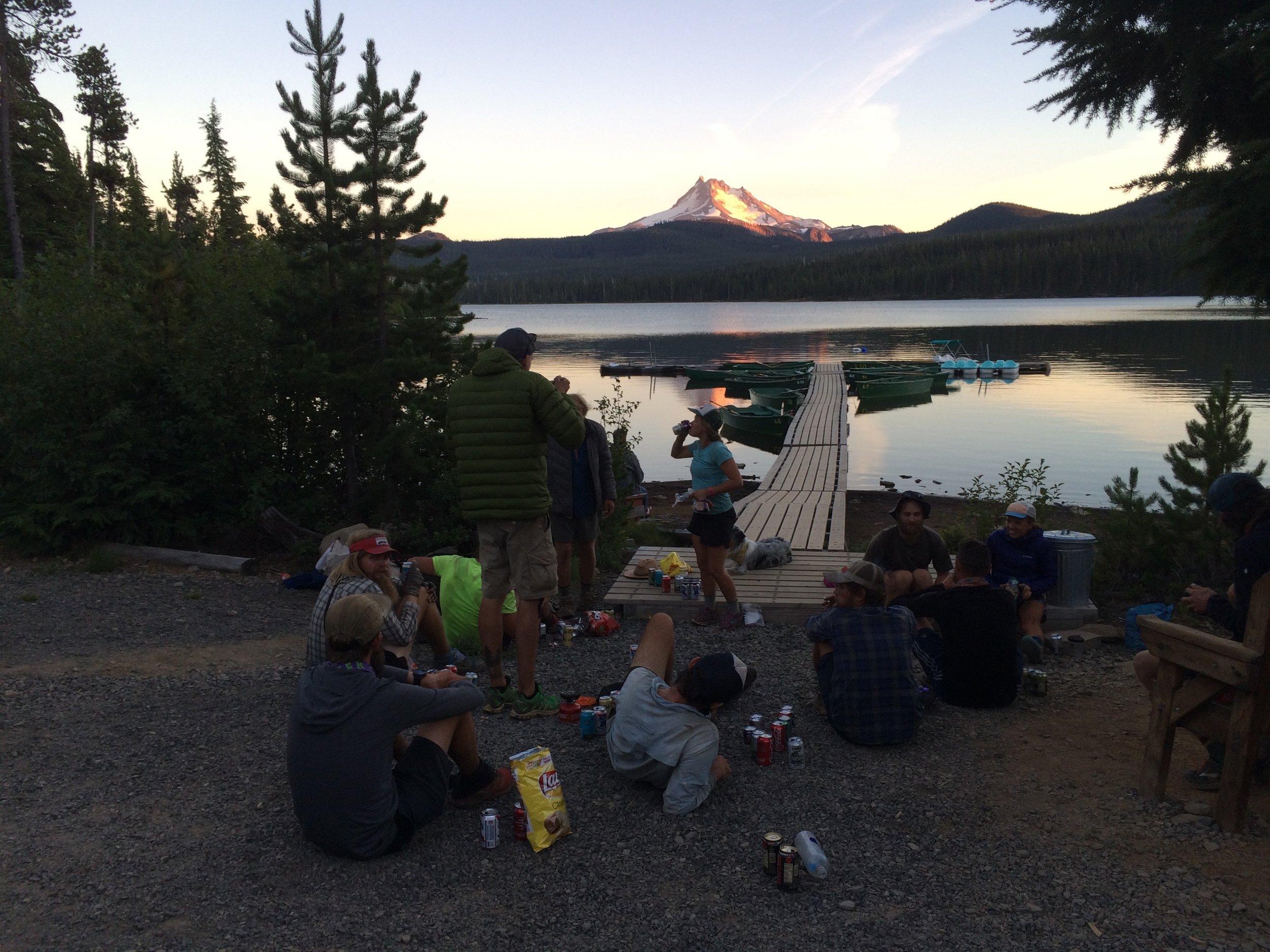 Olallie Lake- Willamette National Forest, OR