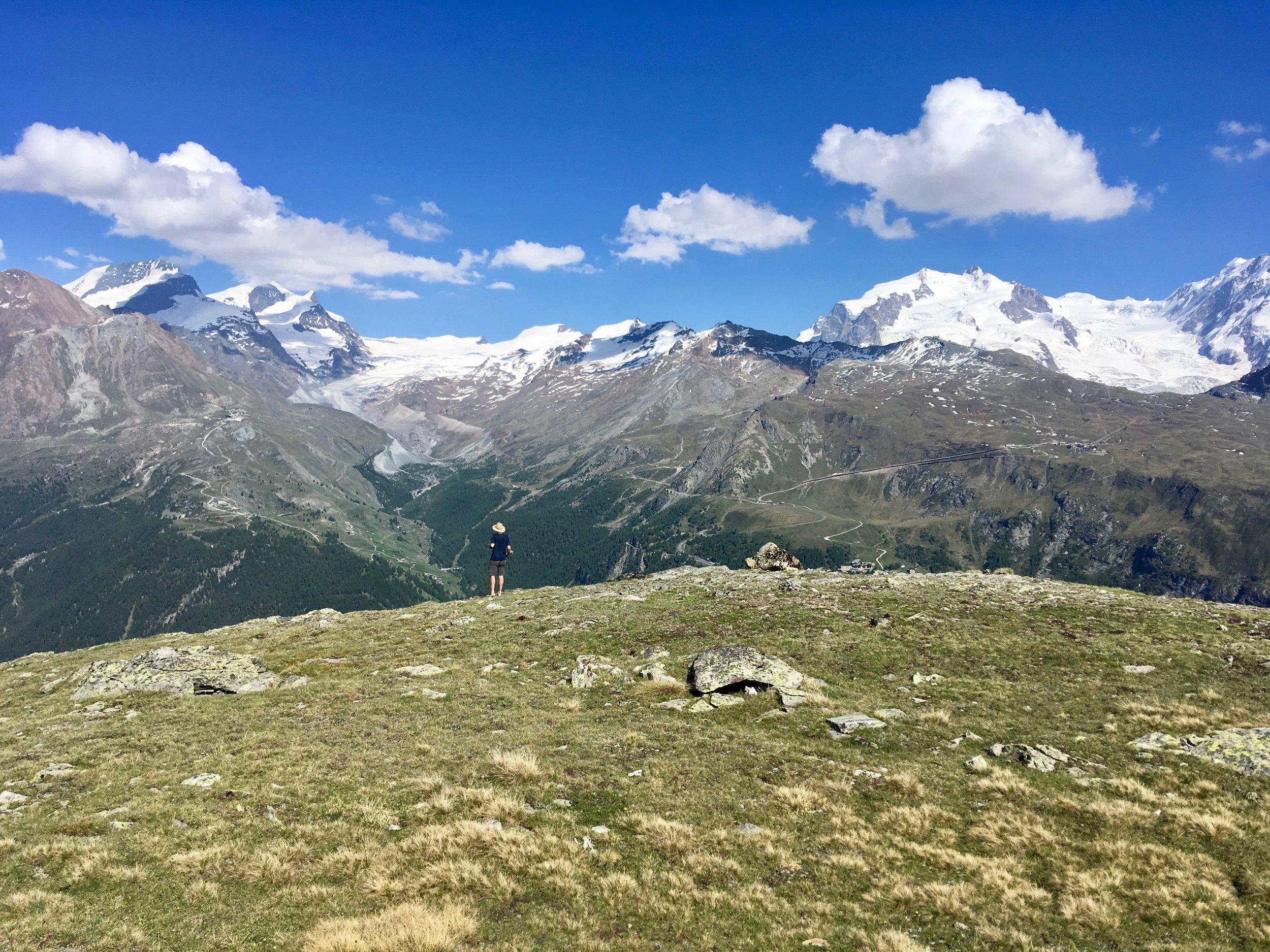 Dufourspitze- Zermatt, Switzerland