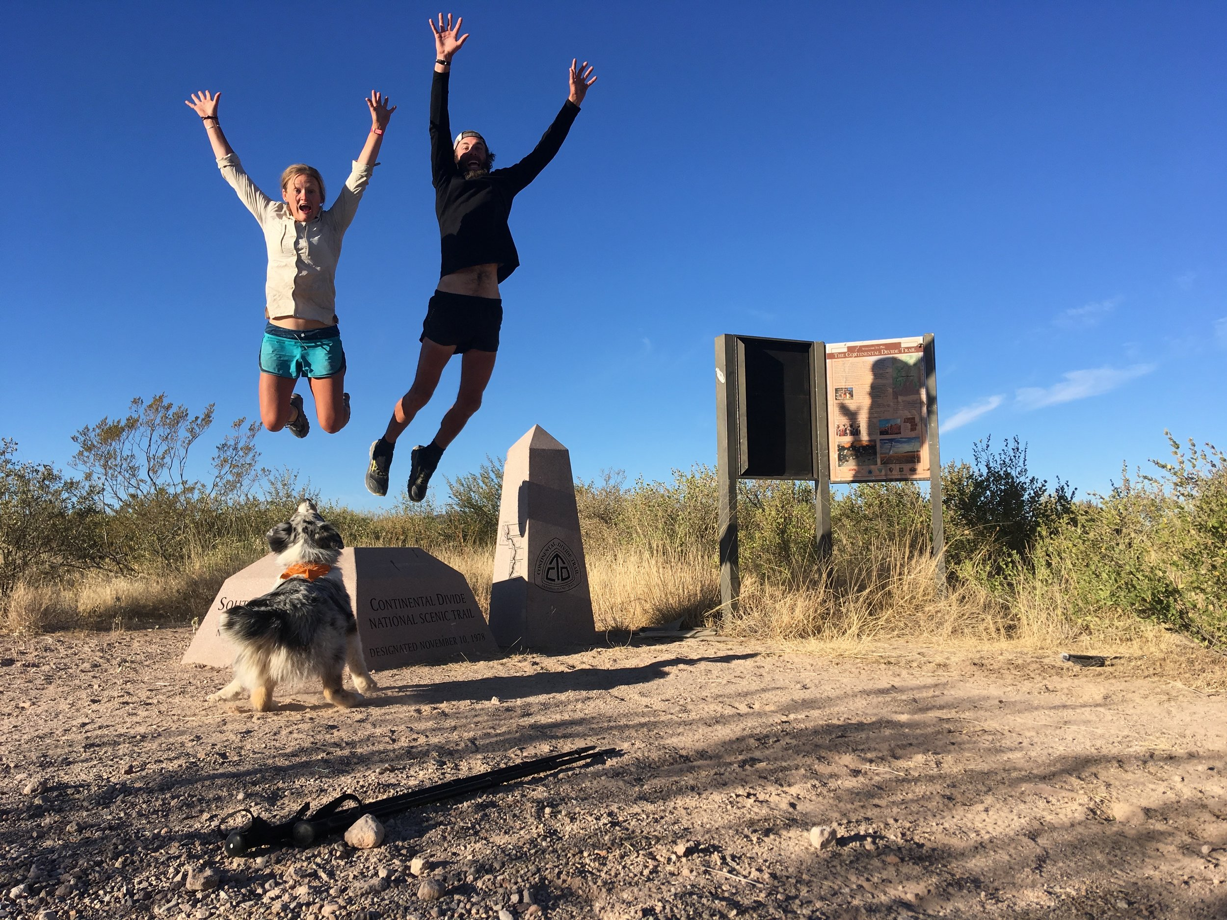 Southern Terminus - Crazy Cook Monument, NM