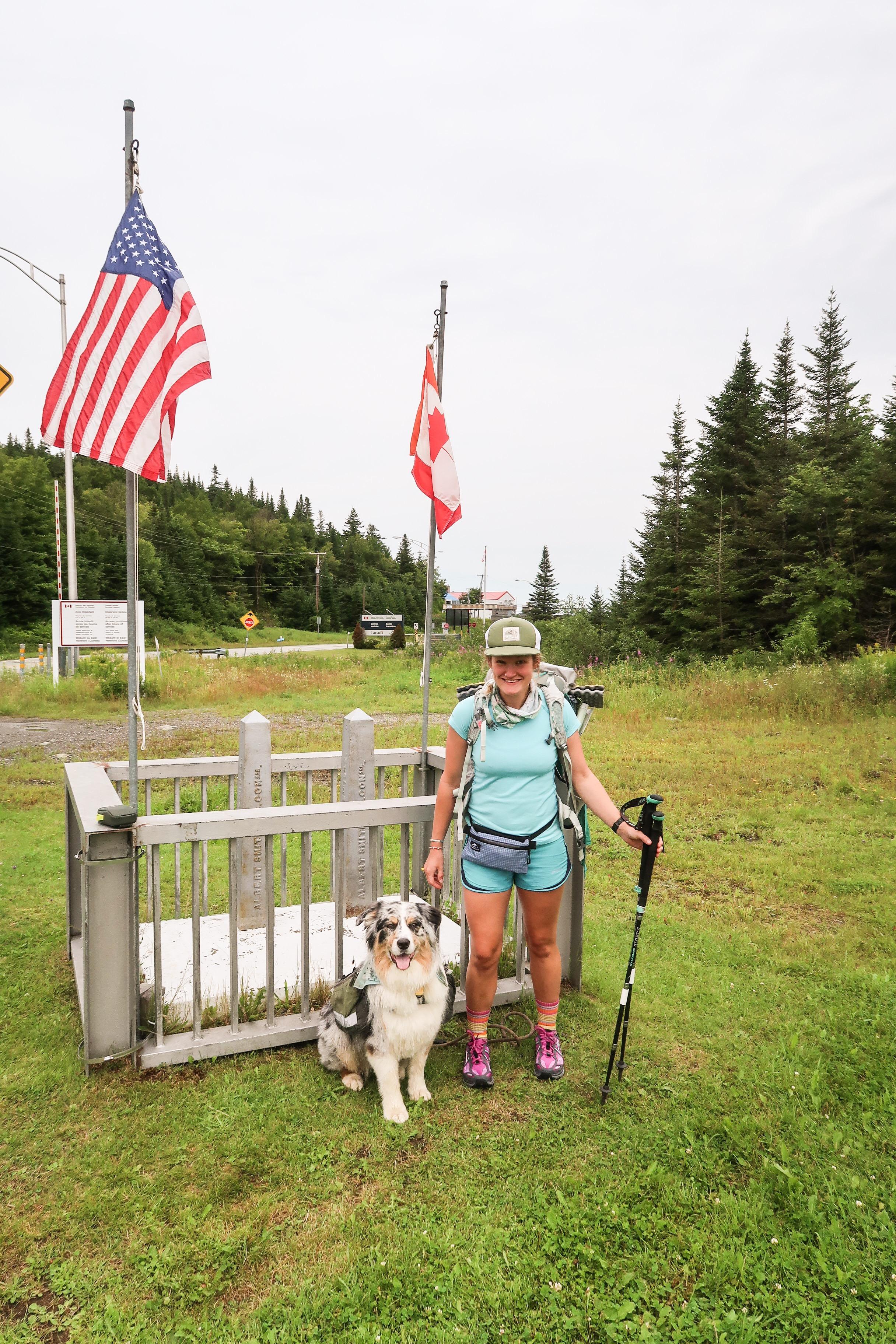 US/Canada Border, NH