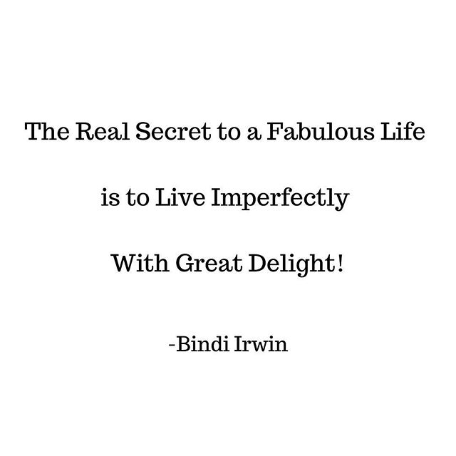 The M Bag •  The Real Secret to a Fabulous Life is to Live Imperfectly With Great Delight! -Bindi Irwin • #fabulous #life #live #imperfectly #LessIsMore #space #minimalism #handbagorganizer #peacewithin #handbags #peace #ease #easemymind #beautywithin #energy #flow #positivevibes #fengshui #declutter #organizedlife #CarryLifeWell #TheMBag