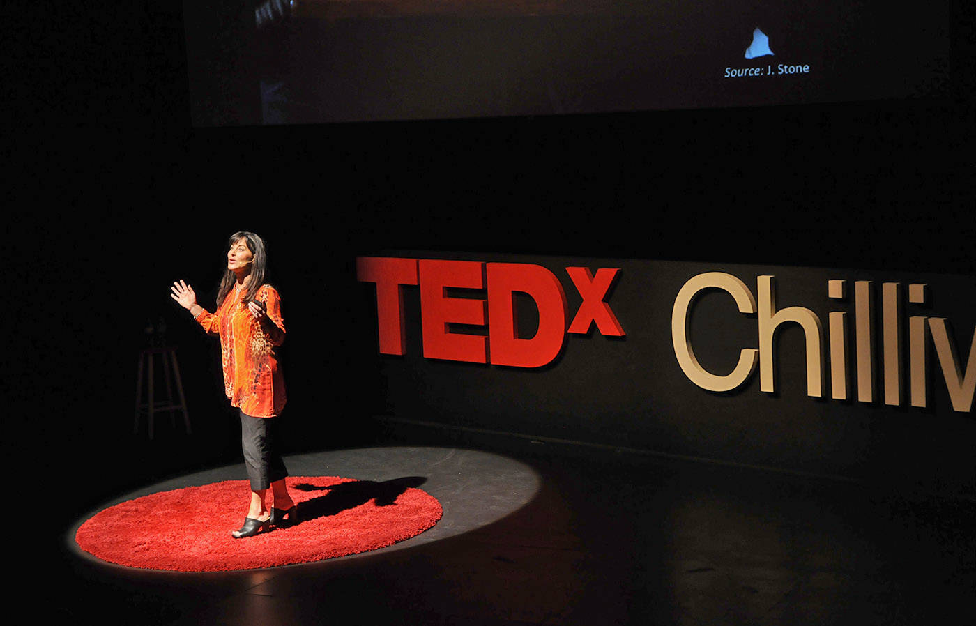 Kim Gemmell of Chilliwack spoke about 'The Value of Human Connection - Unplugged' during last year's TEDx Chilliwack. The deadline to be a part of TEDxChilliwack 2018 is Dec. 1. (Jenna Hauck/ Progress file)