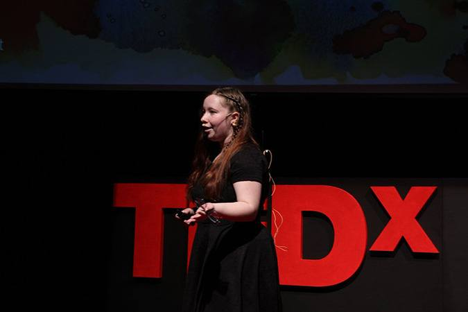 Francis Oliver speaks on Youth Outloud at TEDxChilliwack