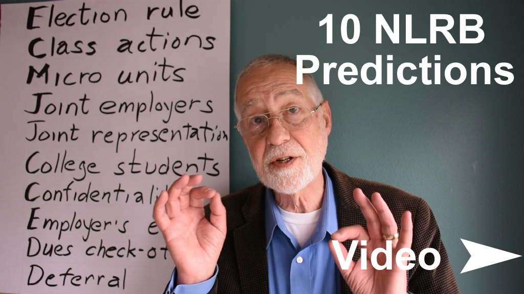 - FYI, Here is my video discussing 10 policy changes that I'll especially be watching for.