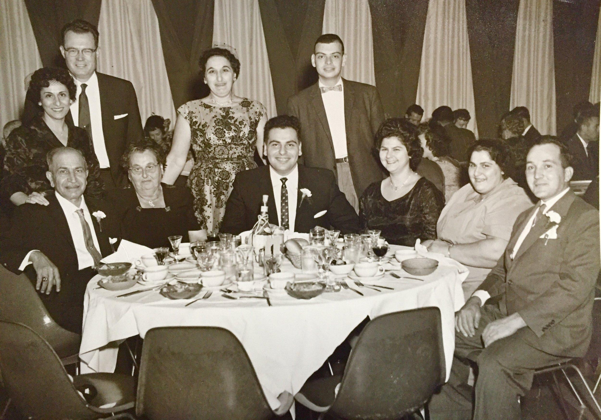The Bifano Family, 1972