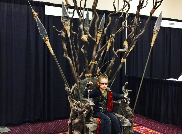 This tiny Lexa child was the highlight of my very gay day.