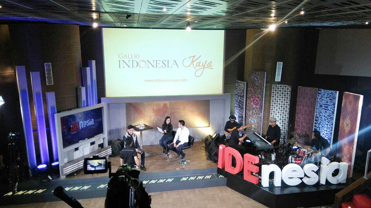 The talk show took place in Galeri Indonesia Kaya, Grand Indonesia, Jakarta Photo by Rojih Azka
