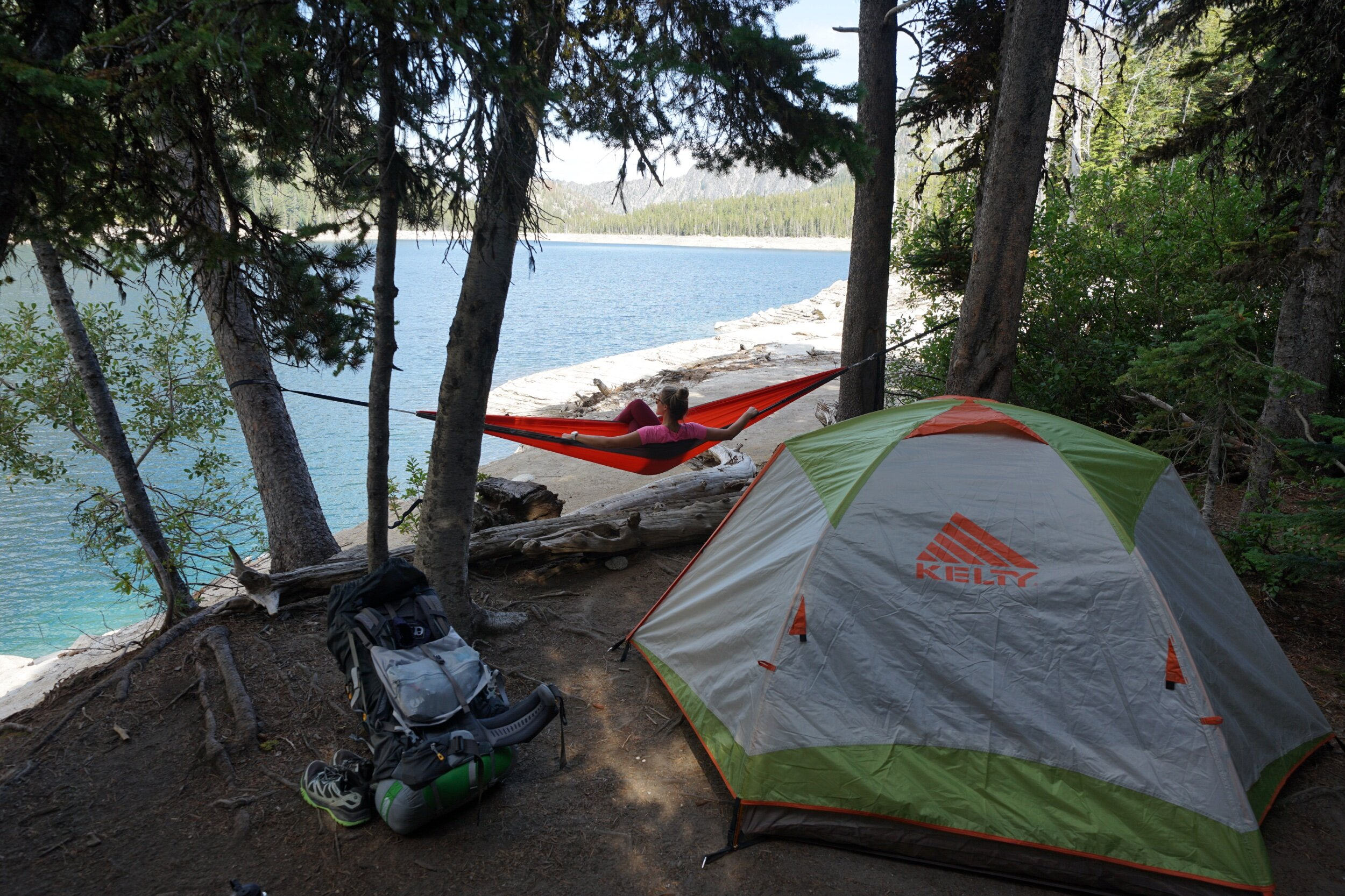 Snow Lake Camp