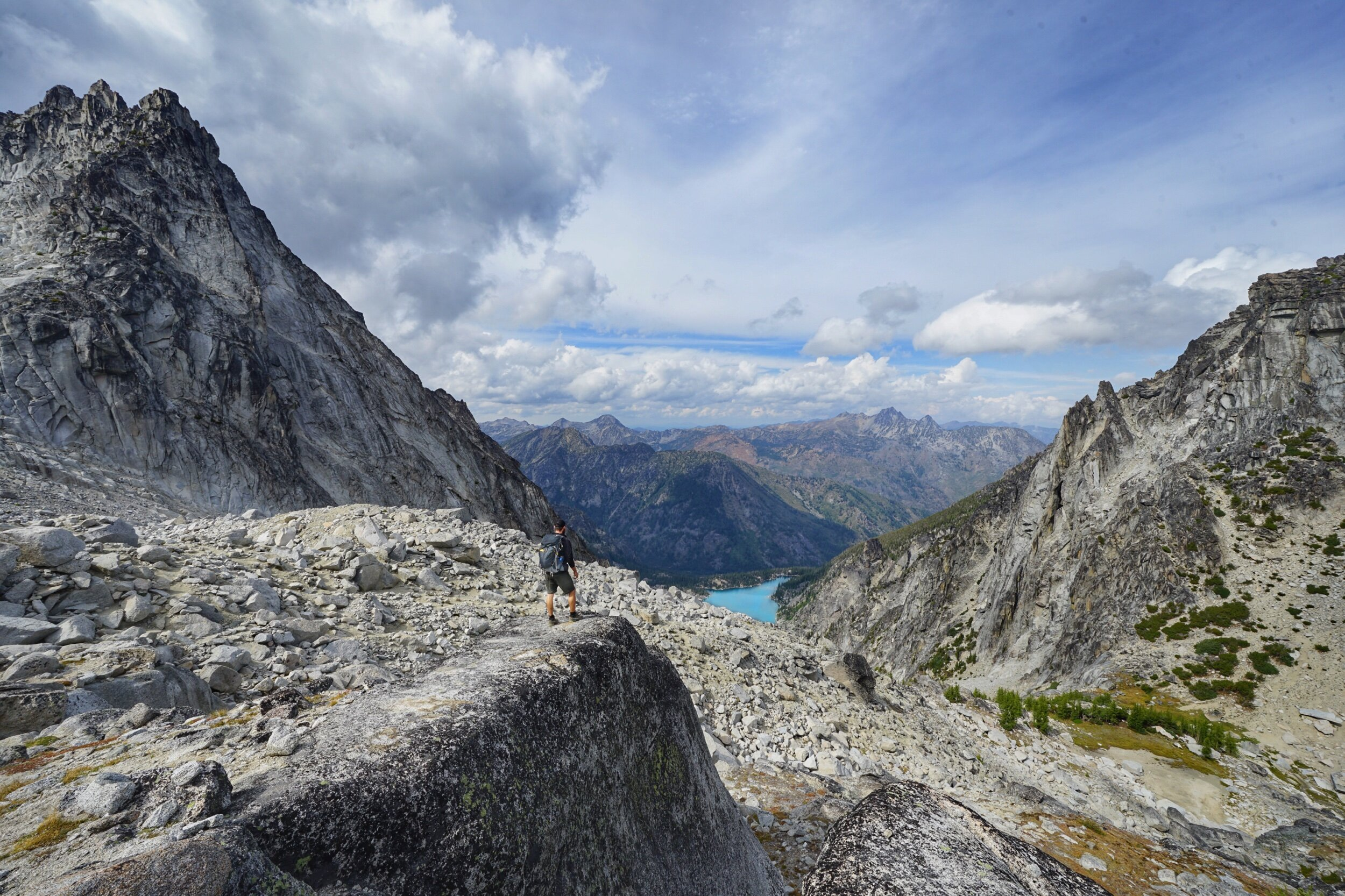 Colchuck Lake from Asgard Pass