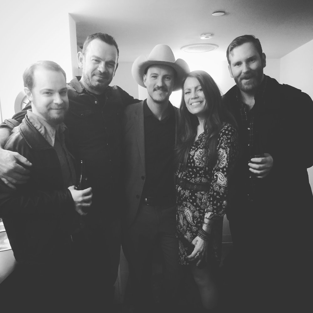 Steve, Bernie, Blake, Bryce & I at JUNOfest 2016
