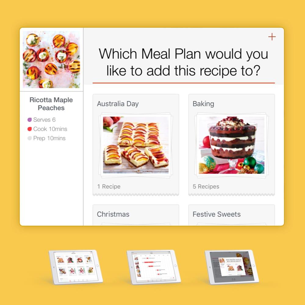 Coles Recipe App: Redesign
