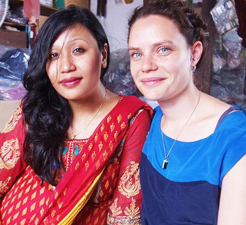 Srishti and Anna at ACP