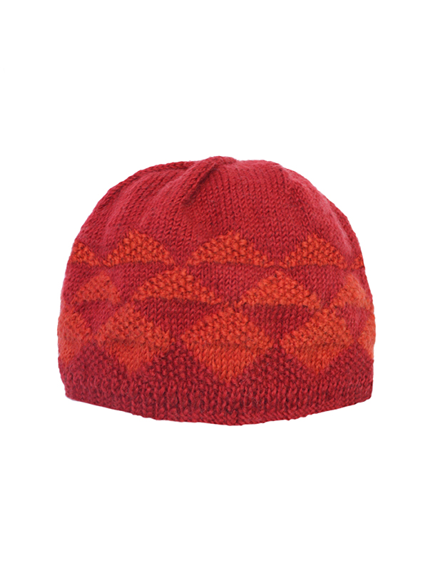 Here Today Here Tomorrow. Ruby Texture Beanie Hat. Autumn Winter 2016. Handmade and Fair Trade. Photo by Agnes Lloyd-Platt.