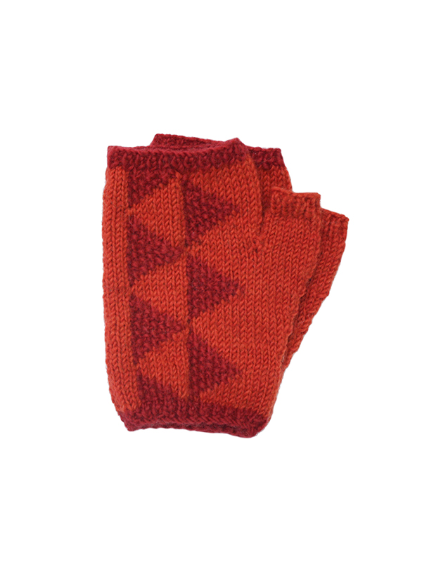 Here Today Here Tomorrow. Ruby & Scarlet Mittlets. Autumn Winter 2016. Handmade and Fair Trade. Photo by Agnes Lloyd-Platt