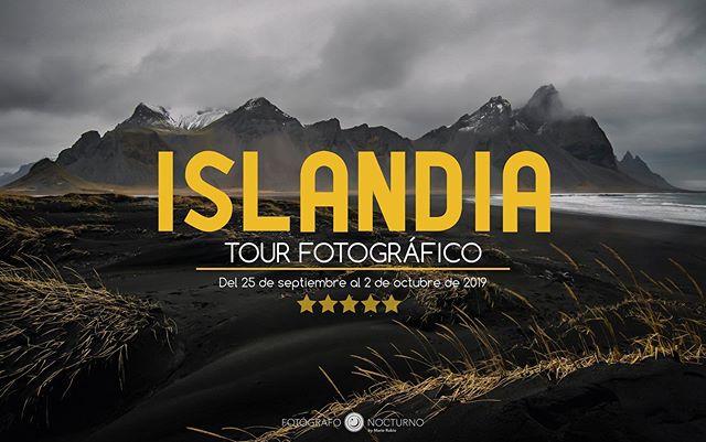 Queda poco más de un mes, y una sola plaza disponible, para el Tour Fotográfico por Islandia con @mario_rubio y @davidgamez. ¡Siete días recorriendo y fotografiando las maravillas de Islandia! Del 25 de septiembre al 2 de octubre! 😍 . . #Islandia #Iceland #iceland🇮🇸 #icelandic #icelandscape #icelandtravel