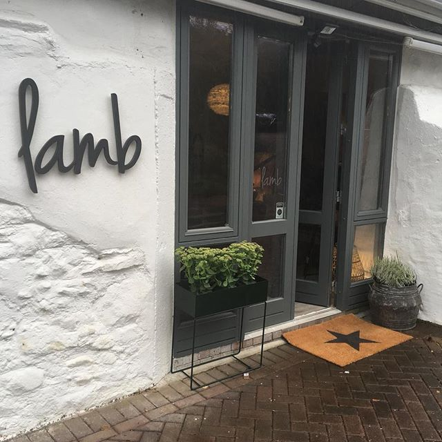 Our studio is now open. We are beyond excited about this new milestone for Lamb. It's been an amazing 3 years to date and we want to thank everyone who helped us on this journey....especially our husbands - the Lamb helpers in times of need. You can visit us at the studio or online @lambdesign.ie. Lots of LAMB love Emma & Christina xx