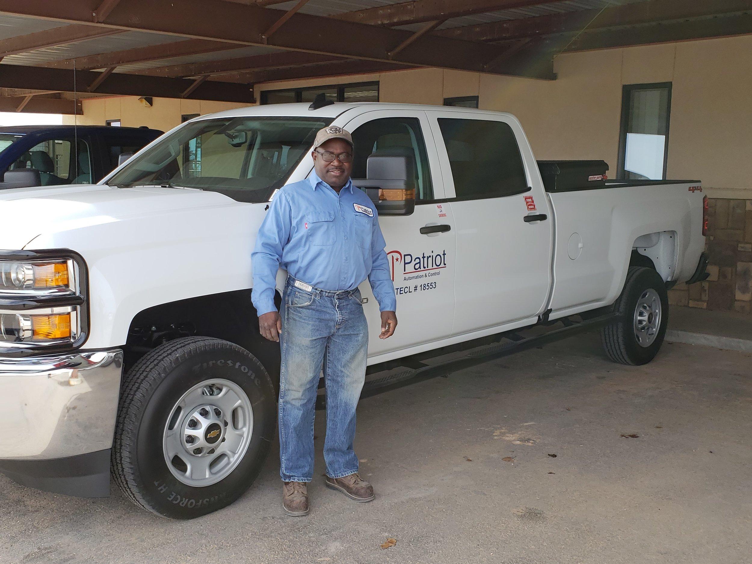 New Truck at Patriot Andrews