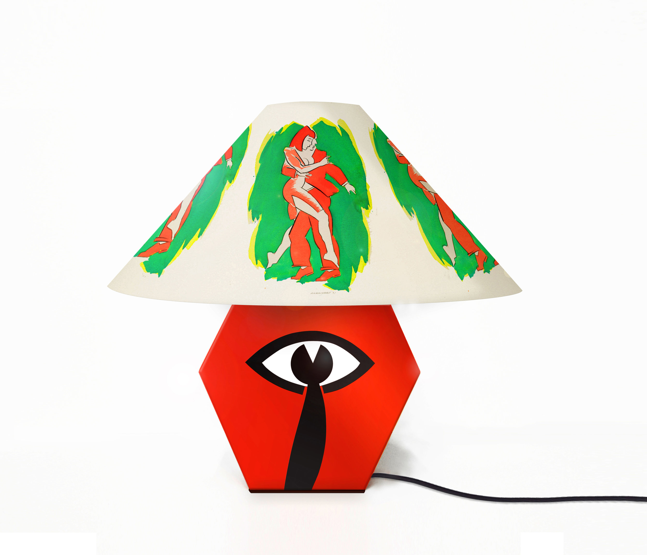 Red Lamp  -  Lola Lely X Allen Jones - Royal Academy of Arts