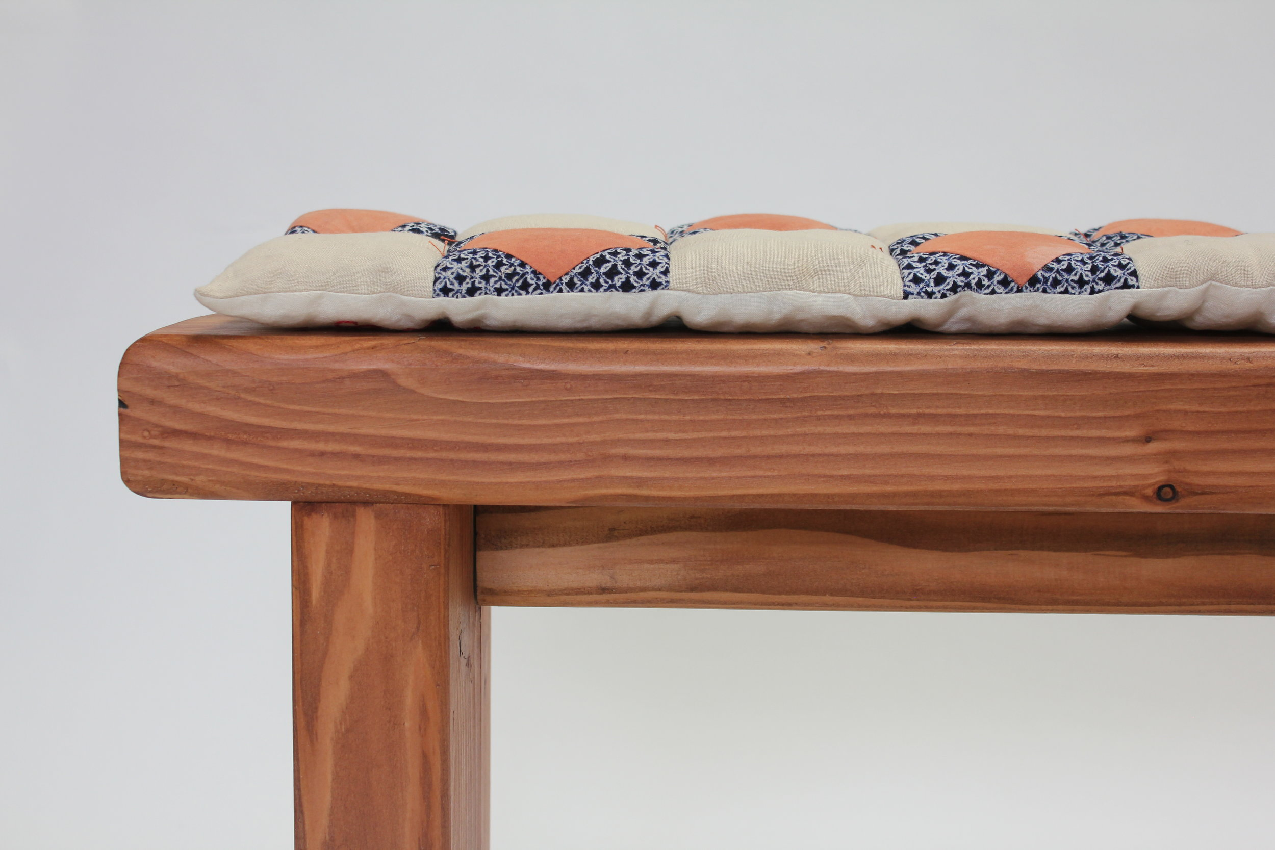 Endai Persimmon Bench  -  The New Craftsmen