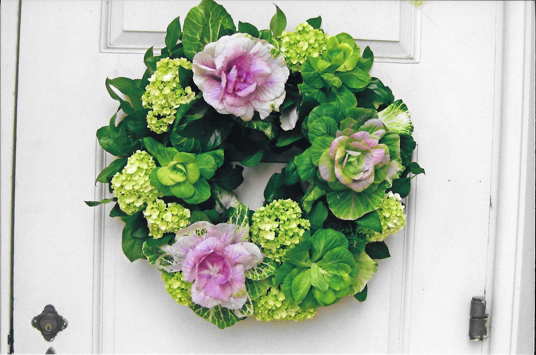 Welcome Your Guests with a Floral Wreath