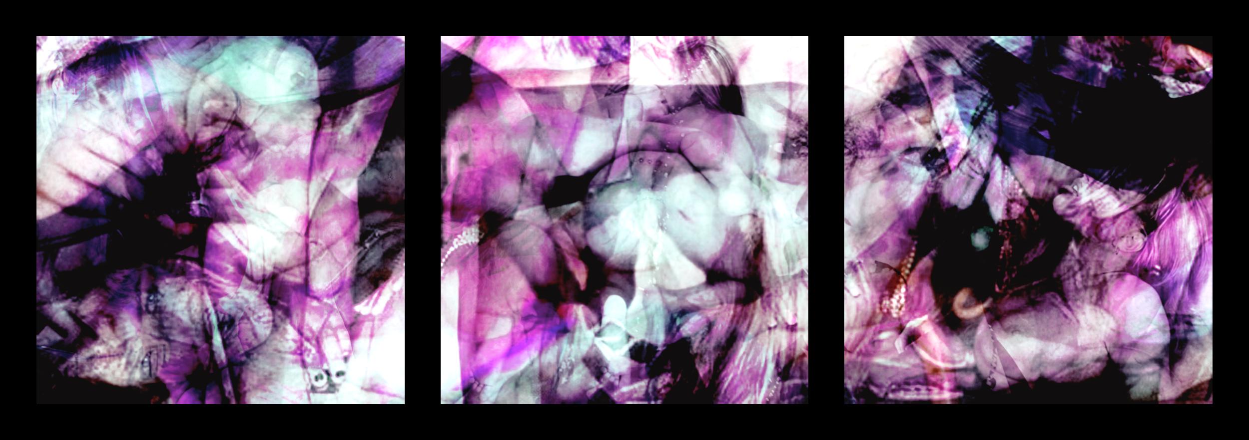 Overdose 11.1-3 (Triptych), 2008