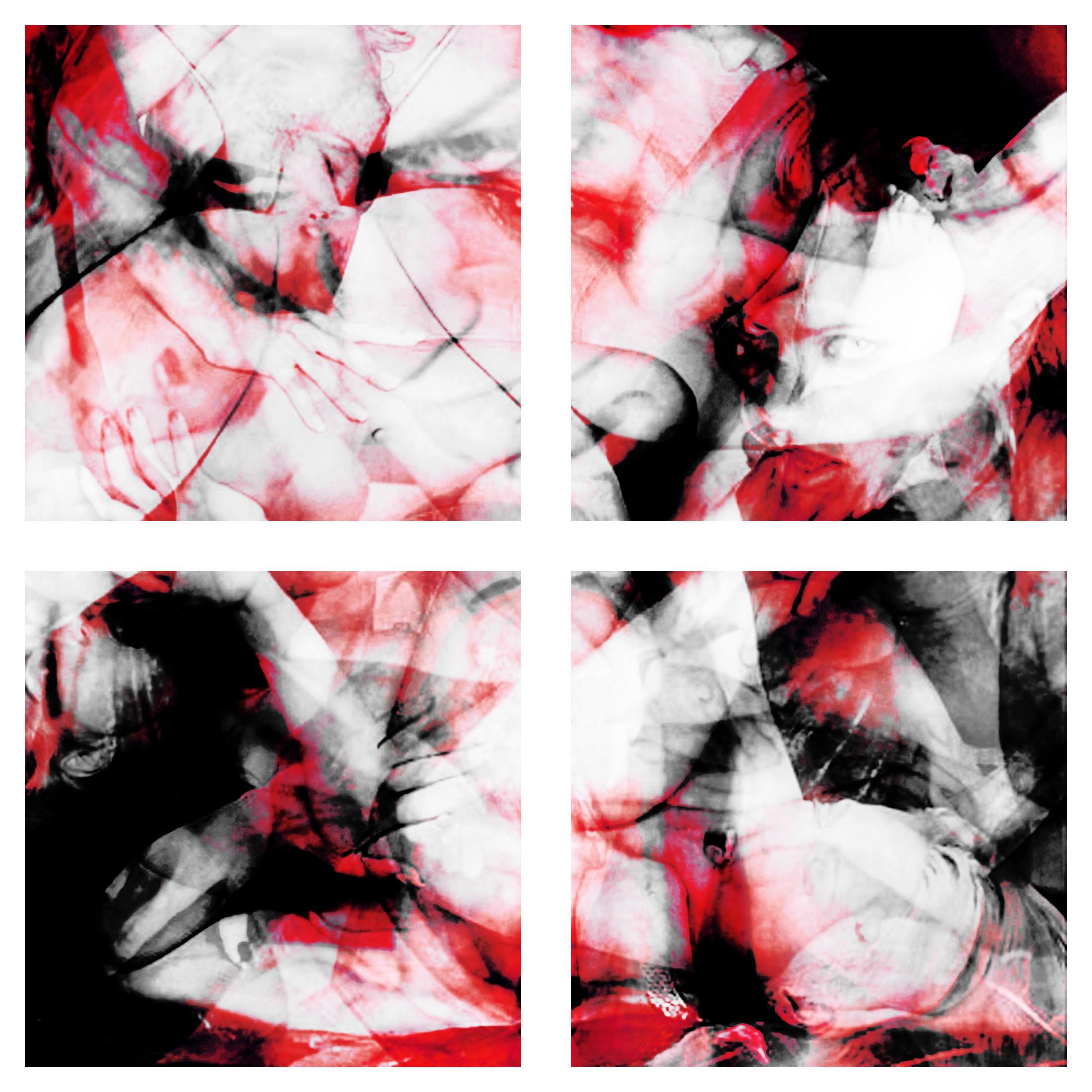Overdose 08.1-4 (Tetraptych), 2008