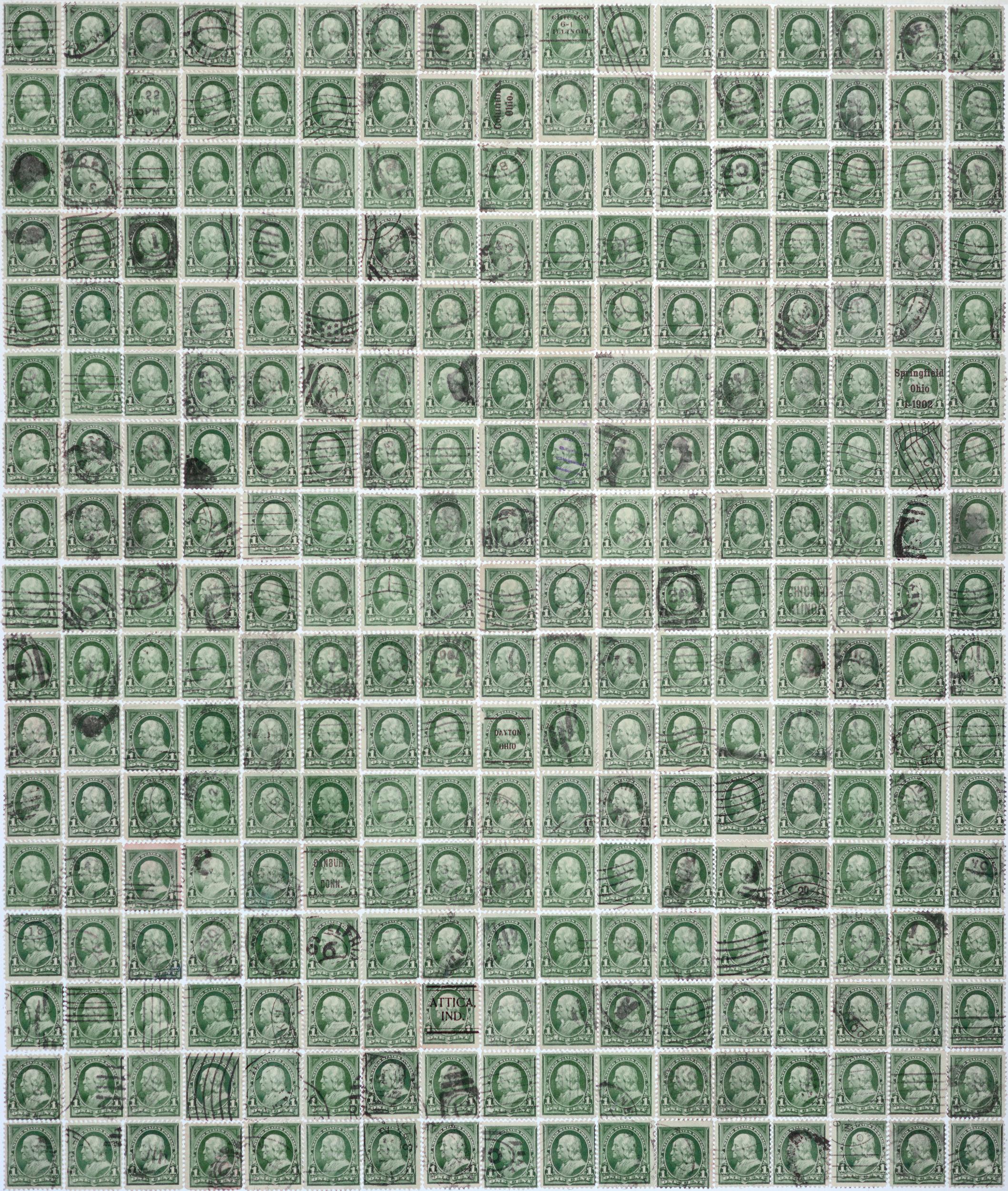 Benjamin Franklin, 1 cent, 2013