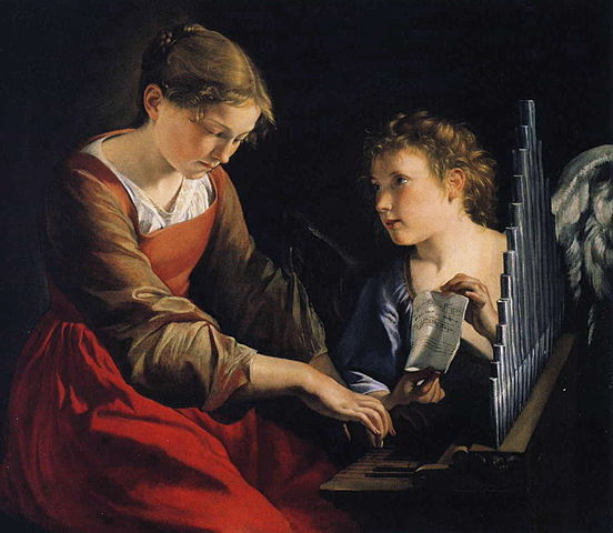 552px-Orazio_Gentileschi_-_Saint_Cecilia_with_an_Angel.jpg