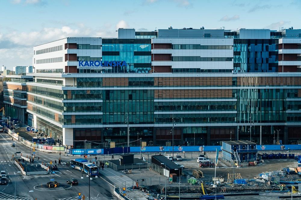 Fotograf: Kristoffer Marchi, Nya Karolinska Pressbilder
