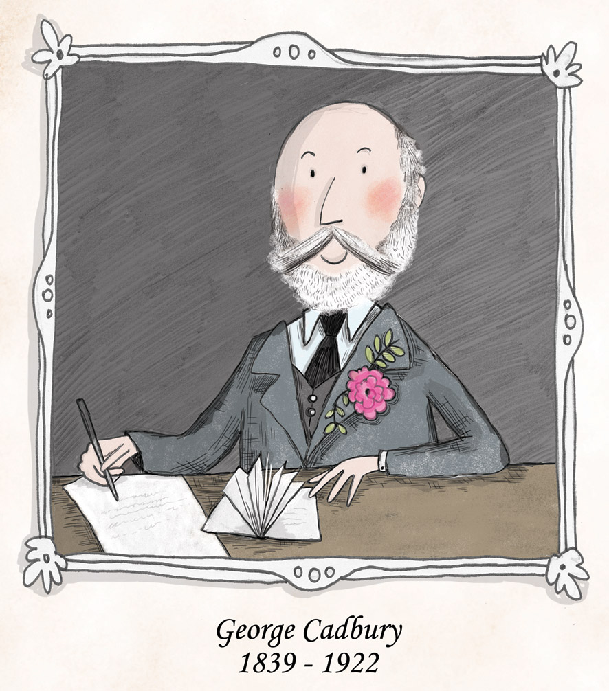 'Two Brothers and a Chocolate Factory - The Remarkable Story of Richard and George Cadbury'. Written by Juliet Clare Bell
