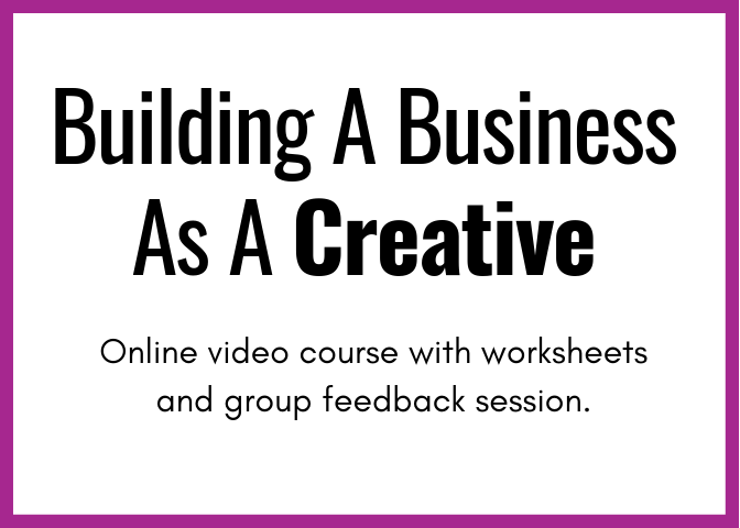 Sign up for this online class to learn how to build a sustainable business as a content creator, photographer, digital marketing, videographer or any kind of creative.