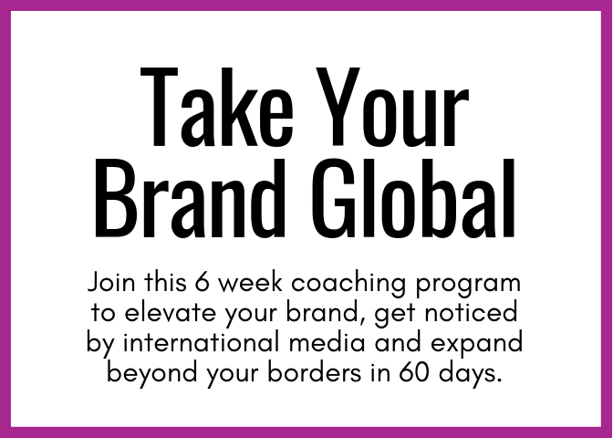 Learn my blueprint for building for building an internationally recognized brand through this engaging online course with live coaching opportunities