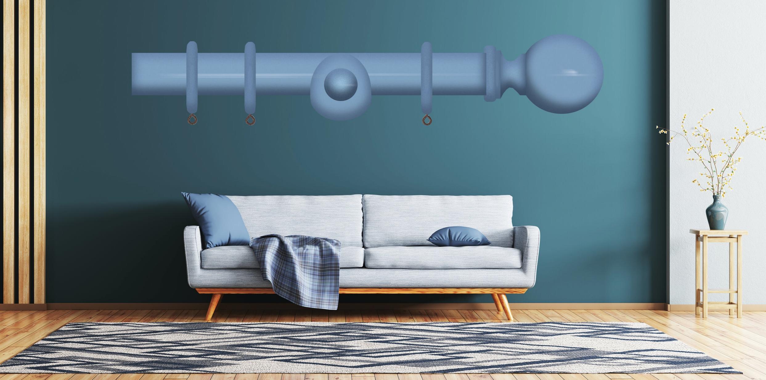ø28 og ø35 gardinstenger i tre - Både i 28, 35 og 45mm kan vi tilby spesialmaling av vårt store utvalg i klassiske og tidløse gardinstenger. Her finner du et stort utvalg i endedekor som passer alle stilarter og du kan velge den fargen som passer nøyaktig for å matche detaljer i interiøret.