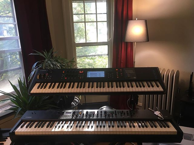 New gig, new rig.  Stay tuned for some cool news from me here in Chicago.  In the meantime, hello, @yamahasynths_official / @yamahamusicusa, let's talk!