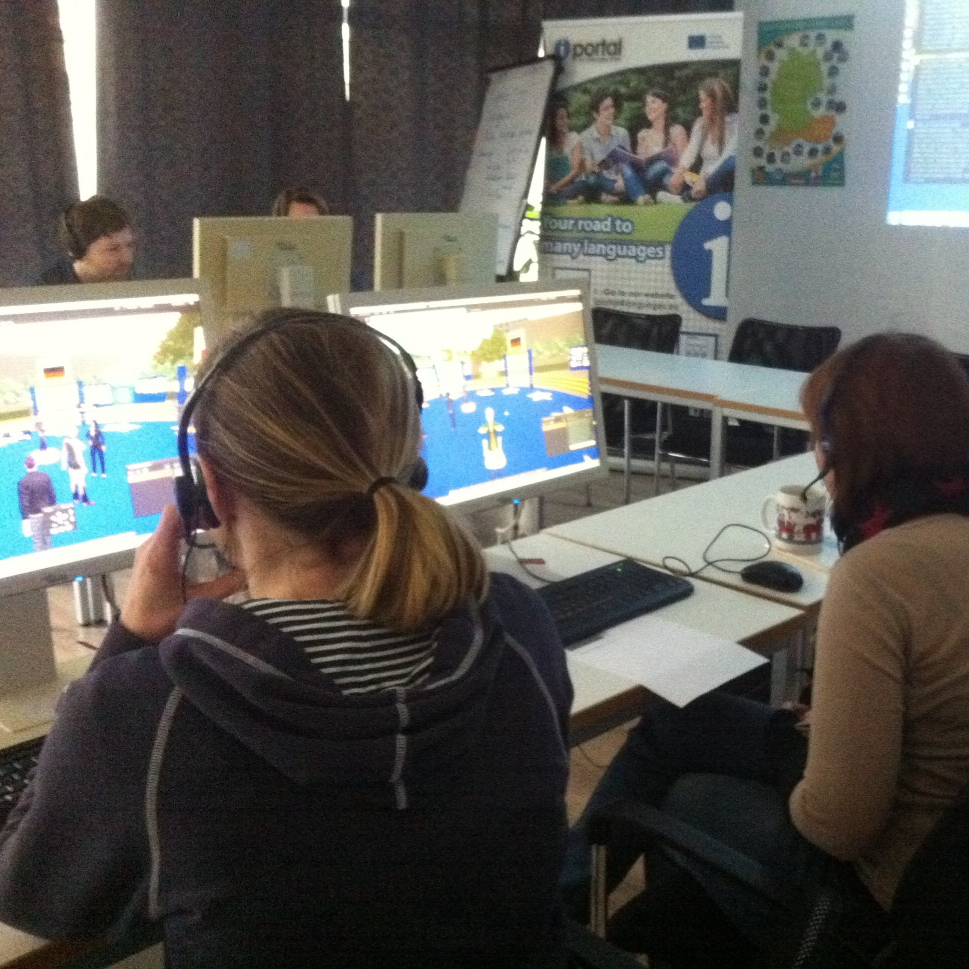 iPortal: Integrated Platform with Online Resources for Teaching of All Languages    iPortal is a platform providing teachers with valuable tools for online teaching of languages, including interactive lesson building tools, virtual classroom and 3D environment for oral skills improvement.   iPortal was a Key Activity 2 (Languages) project funded by the EU under the Lifelong Learning programme. This three year project brought together partners from Bulgaria, Germany, Poland, Spain, UK and Turkey to develop an 'iPortal' – an Integrated Platform with Online Resources for Teaching of All Languages. The project aimed to improve the quality and access to independent language learning tools by combining existing e-learning tools with a 3D learning environment The objectives were to: - Construct a new learning environment framework - Incorporate established language learning resources and methodologies including 3D simulation, video, audio, m-learning and social networking - Improve access to learning resources in English, German, Spanish, Polish, Bulgarian and Turkish - Develop a Second Life facility to enable learners to meet and communicate on-line - Create an on-line network of language centres and freelance teachers The platform enables teachers to teach students of all nationalities in different languages in an attractive, interactive and effective way.  For more information, please, visit the  project website  Project ID number: 531337-1-LLP-2012-1-BG-KA2-KA2MP