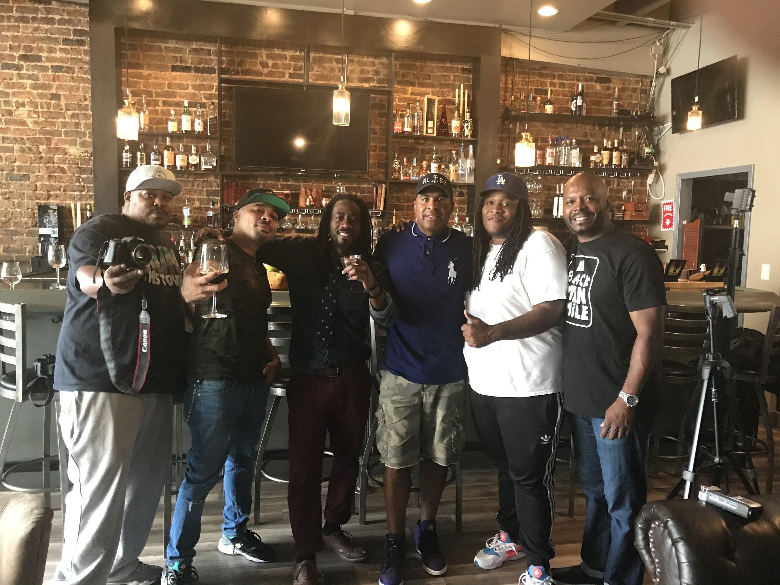 black men smile interview with brews