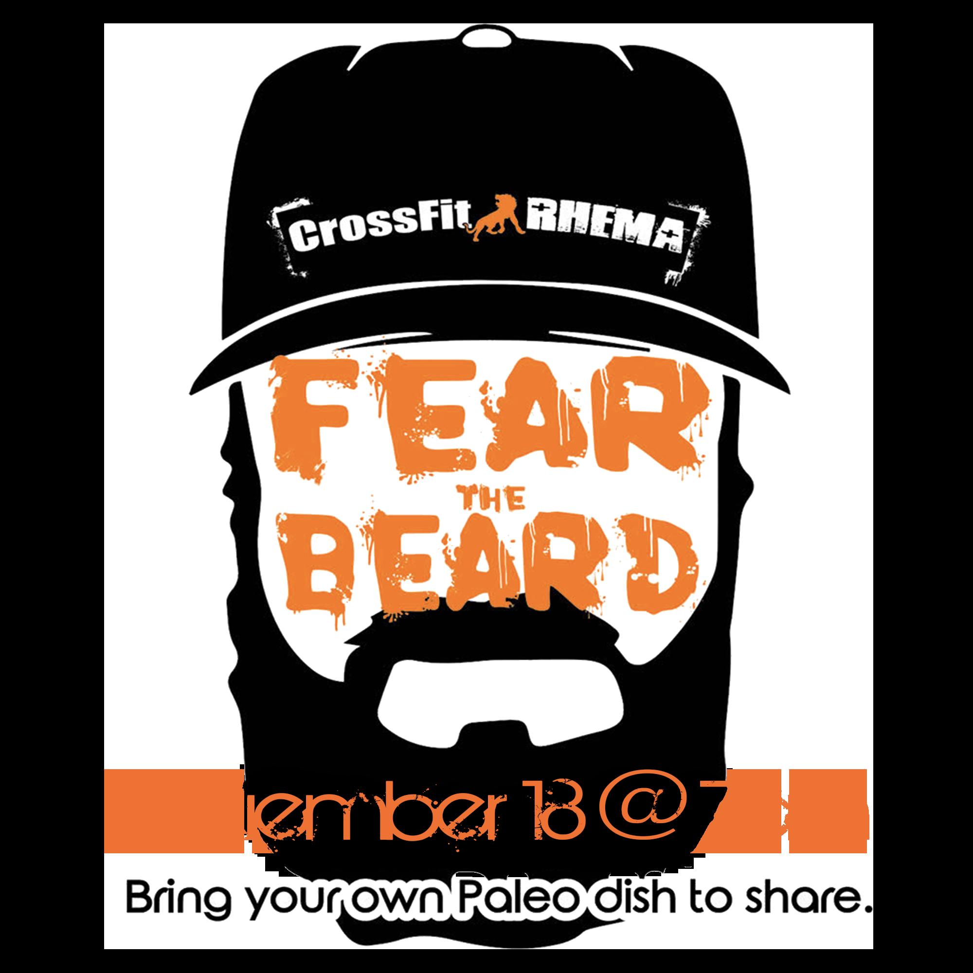 crossfit rhema fear the beard