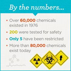 More chemical toxins in our environment with less testing