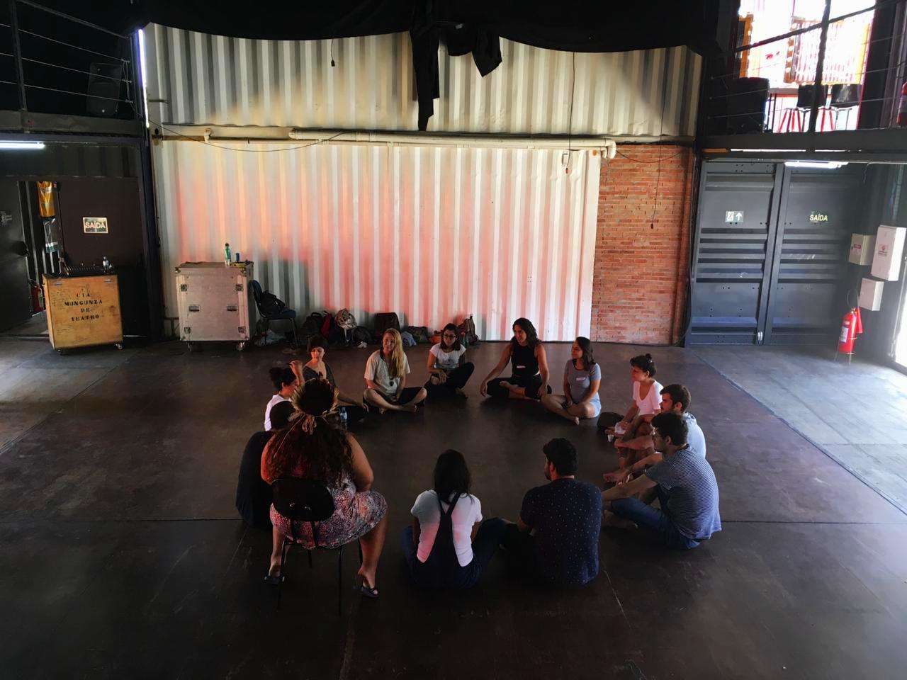Habitar Terra - Oficina realizada à convite do I Seminário Arquitetura para Autonomia- Ativando territórios de educação, organizado pelo Instituto A Cidade Precisa de Você e pela Escola Sem Muros.
