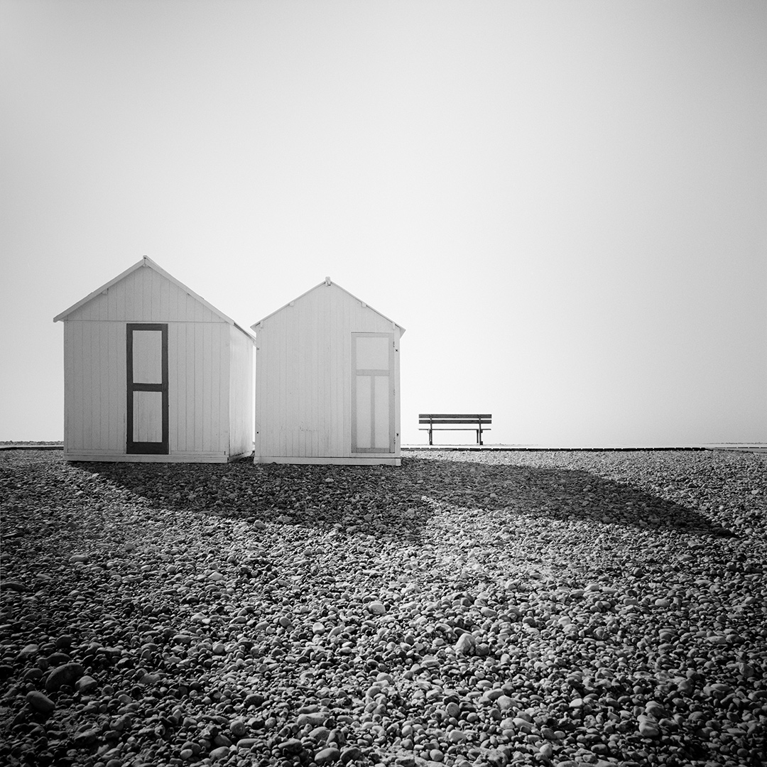 Beach Huts Study #2, France 2018 - No.: 11962